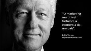 Bill Clinton e o Marketing de Rede