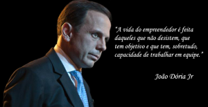 João Dória Jr. atual prefeito de São Paulo
